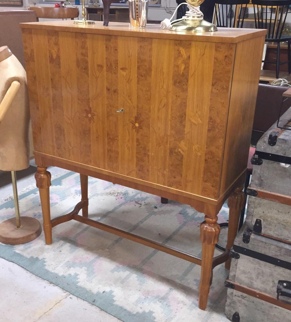 Swedish Art Deco Bar Cabinet
