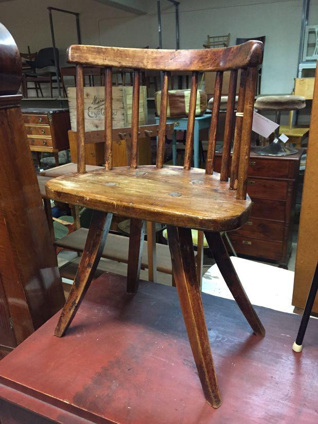 Primitive Swedish Chair